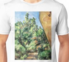 1895 - Paul Cezanne - The Red Rock Unisex T-Shirt