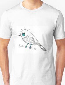 sad bird Unisex T-Shirt