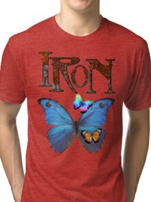 Iron Butterfly Tri-blend T-Shirt