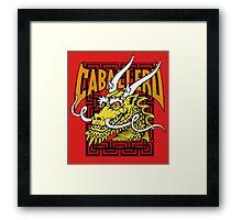 Steve Caballero Framed Print