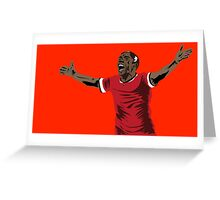 Ashley Young Greeting Card