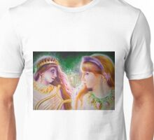 Sappho and the girl who had to leave her Unisex T-Shirt