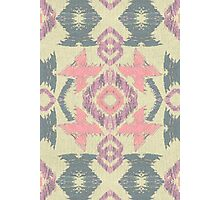 Girly Ikat  Photographic Print