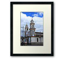 Church Facade Framed Print