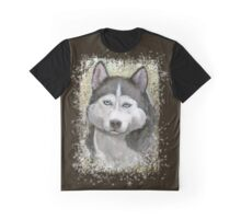 Hasky dog Graphic T-Shirt