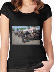 Rat Rods Women's Fitted Scoop T-Shirt