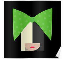 Sia (Black) Poster