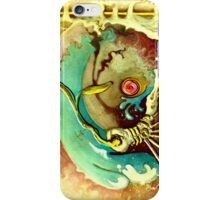 Bone, button, bark iPhone Case/Skin