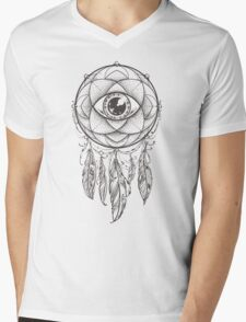 Dream Catcher Mens V-Neck T-Shirt