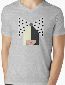 Sia (Black) Mens V-Neck T-Shirt