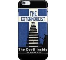 The Devil Inside. The Dalek Cut. iPhone Case/Skin