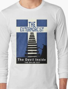 The Devil Inside. The Dalek Cut. Long Sleeve T-Shirt