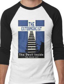The Devil Inside. The Dalek Cut. Men's Baseball ¾ T-Shirt