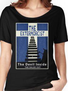The Devil Inside. The Dalek Cut. Women's Relaxed Fit T-Shirt