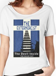 The Devil Inside. The Dalek Cut. Women's Relaxed Fit T-Shirt