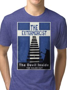 The Devil Inside. The Dalek Cut. Tri-blend T-Shirt