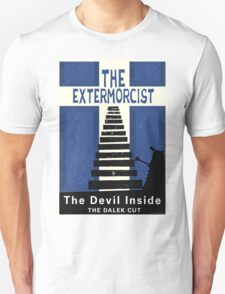 The Devil Inside. The Dalek Cut. Unisex T-Shirt