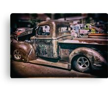 Rat Rod Canvas Print