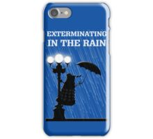 MusiKill in the Rain iPhone Case/Skin