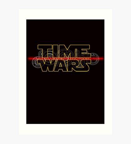 Time Wars  Art Print