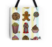 Candy/sweets pattern Tote Bag
