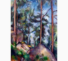 1897 - Paul Cezanne - Pines and Rocks Unisex T-Shirt