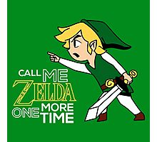 Call Me Zelda One More Time Photographic Print
