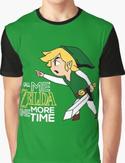Call Me Zelda One More Time Graphic T-Shirt