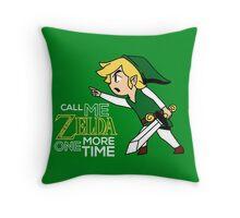 Call Me Zelda One More Time Throw Pillow
