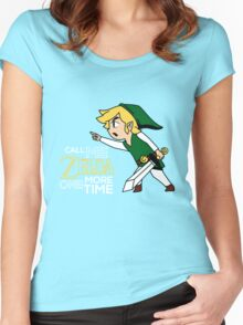 Call Me Zelda One More Time Women's Fitted Scoop T-Shirt
