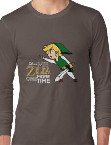 Call Me Zelda One More Time Long Sleeve T-Shirt