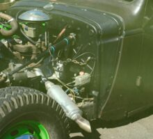Rat Rod 4 Sticker