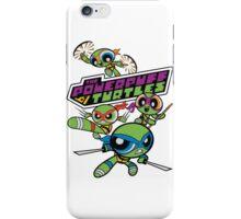 Powerpuff Girls and Teenage Mutant Ninja Turtles iPhone Case/Skin