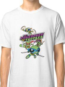 Powerpuff Girls and Teenage Mutant Ninja Turtles Classic T-Shirt