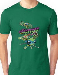 Powerpuff Girls and Teenage Mutant Ninja Turtles Unisex T-Shirt