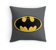 BAT-DALEK Throw Pillow
