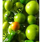 Green Tomatoes by ©The Creative  Minds