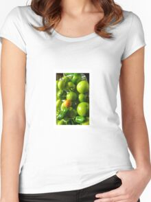 Green Tomatoes Women's Fitted Scoop T-Shirt