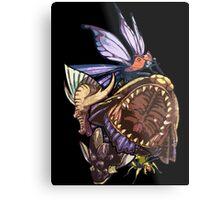 Monster Hunter Monster Mash Design Metal Print