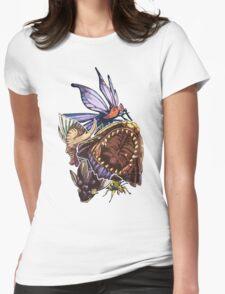 Monster Hunter Monster Mash Design Womens Fitted T-Shirt
