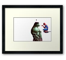 The Spider and the Beast Framed Print