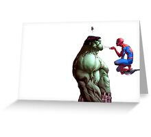 The Spider and the Beast Greeting Card