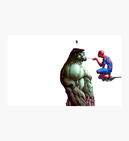 The Spider and the Beast Photographic Print