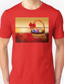 Easter Card with Basket Unisex T-Shirt