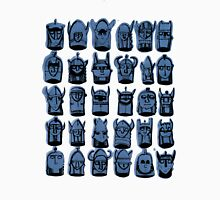 Wee Helmeted Blue Folk Unisex T-Shirt
