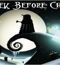 Dalek Before Christmas Sticker
