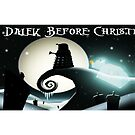 Dalek Before Christmas by ToneCartoons