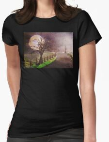 Road home Womens Fitted T-Shirt