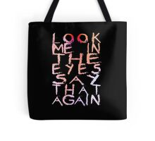 Placebo Begin the End - for dark backgrounds Tote Bag