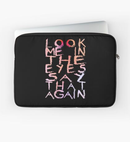 Placebo Begin the End - for dark backgrounds Laptop Sleeve